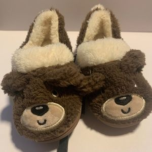 4/$25 🌸 George Toddler Bear Slippers